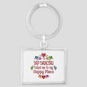Tap Dancing Happy Place Landscape Keychain