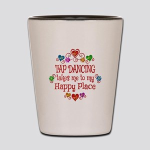 Tap Dancing Happy Place Shot Glass