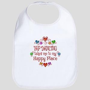 Tap Dancing Happy Place Bib