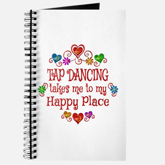 Tap Dancing Happy Place Journal