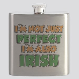 Not Just Perfect Irish Flask