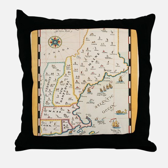 Cute East coast Throw Pillow