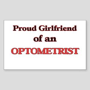 Proud Girlfriend of a Optometrist Sticker