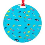Pacific Reef Fish Scatter Ornament