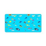 Pacific Reef Fish Scatter Aluminum License Plate