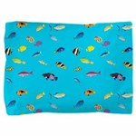 Pacific Reef Fish Scatter Pillow Sham