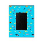 Pacific Reef Fish Scatter Picture Frame