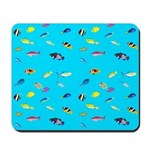 Pacific Reef Fish Scatter Mousepad