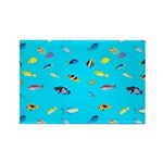Pacific Reef Fish Scatter Magnets