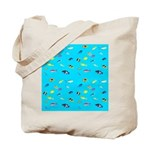 Pacific Reef Fish Scatter Tote Bag
