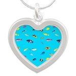 Pacific Reef Fish Scatter Necklaces