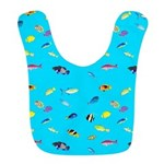 Pacific Reef Fish Scatter Bib