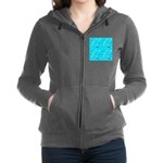 Pacific Reef Fish Scatter Women's Zip Hoodie