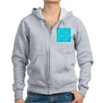 Pacific Reef Fish Scatter Zip Hoodie
