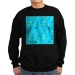 Pacific Reef Fish Scatter Sweatshirt