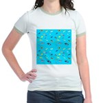 Pacific Reef Fish Scatter T-Shirt