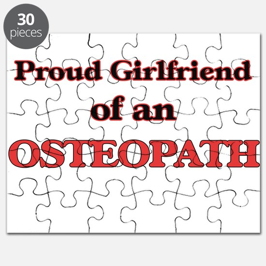 Proud Girlfriend of a Osteopath Puzzle