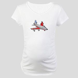 Boeing 747 Passenger Plane Maternity T-Shirt