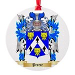 Preece Round Ornament