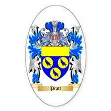 Pratt Sticker (Oval 50 pk)