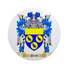 Pratt Round Ornament