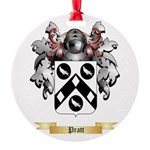 Pratt 2 Round Ornament