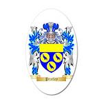 Pratley 35x21 Oval Wall Decal
