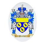 Pratley Oval Ornament