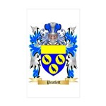 Pratlett Sticker (Rectangle 50 pk)