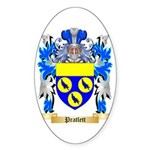 Pratlett Sticker (Oval 50 pk)