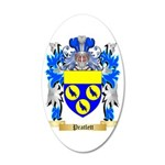 Pratlett 35x21 Oval Wall Decal