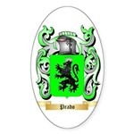 Prado Sticker (Oval 50 pk)