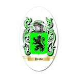 Prado 20x12 Oval Wall Decal