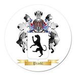 Prackl Round Car Magnet