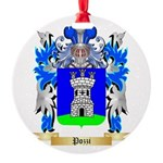Pozzi Round Ornament