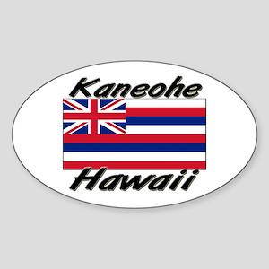 Kaneohe Hawaii Oval Sticker