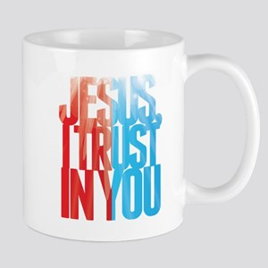 Jesus I Trust in You Mugs