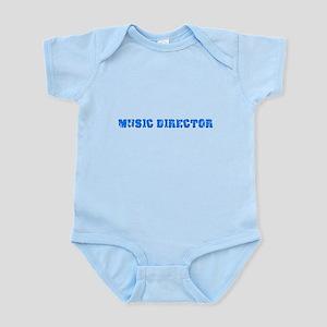 Music Director Blue Bold Design Body Suit