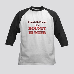 Proud Girlfriend of a Bounty Hunte Baseball Jersey