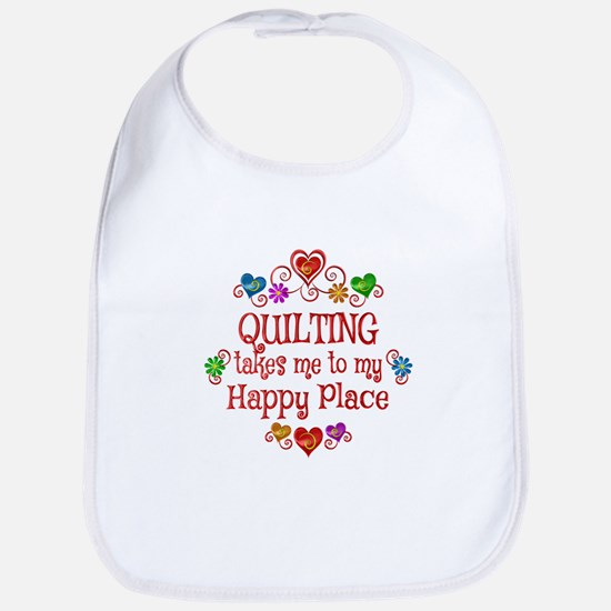 Quilting Happy Place Bib