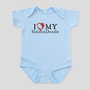 I Heart My Goldenddoodle Infant Bodysuit