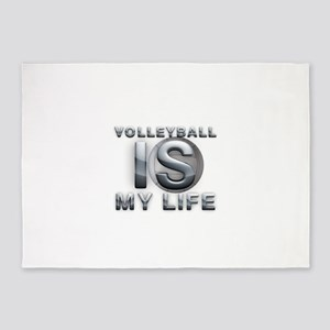 Volleyball is My Life 5'x7'Area Rug