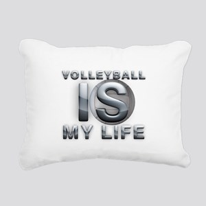 Volleyball is My Life Rectangular Canvas Pillow