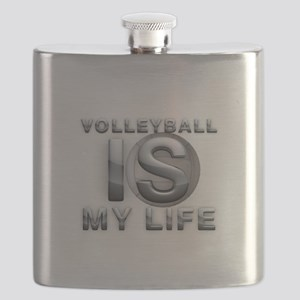Volleyball is My Life Flask