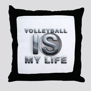 Volleyball is My Life Throw Pillow