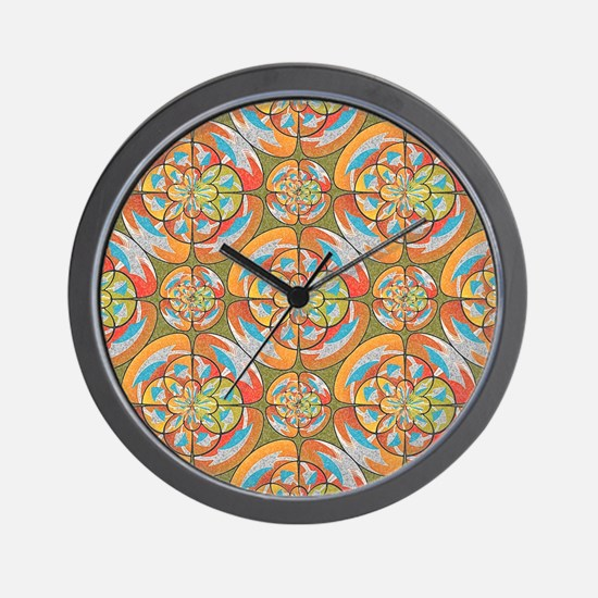 Autumn colors Wall Clock