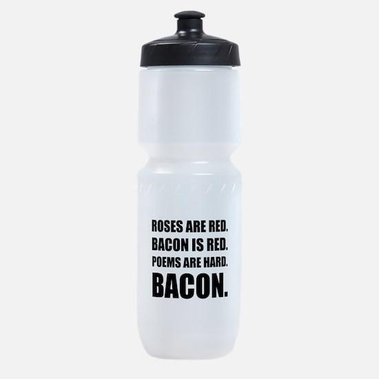 Bacon Poem 2 Sports Bottle