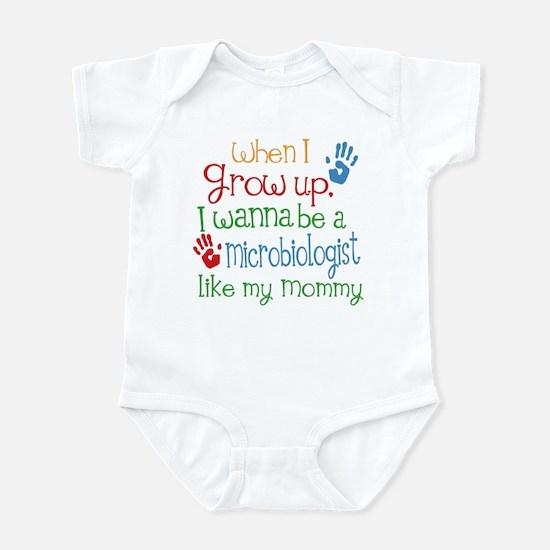 Microbiologist Like Mommy Infant Bodysuit