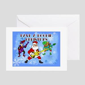 Rockin Christmas Greeting Cards
