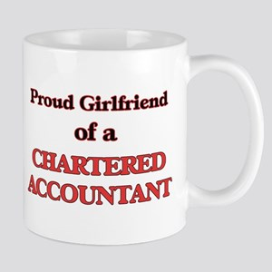 Proud Girlfriend of a Chartered Accountant Mugs